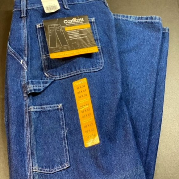 Carhartt Washed Denim Work Dungaree